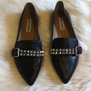 Steve Madden Studded Pointed Toe Flats 8